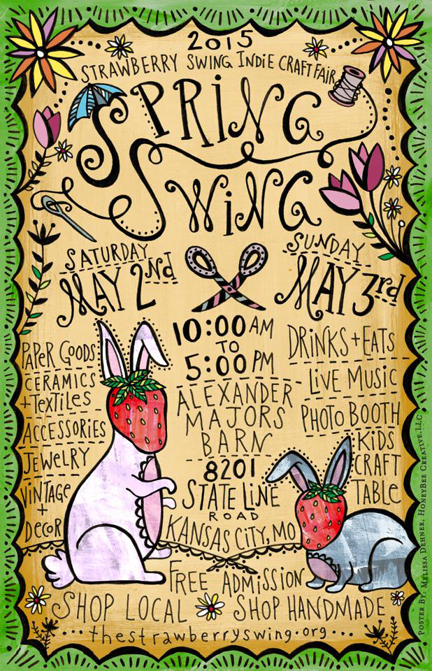 Strawberry Swing Indie Craft Fair May 2nd and 3rd