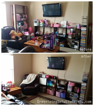 Before And After Organized Toy Room Organizing A Playroom
