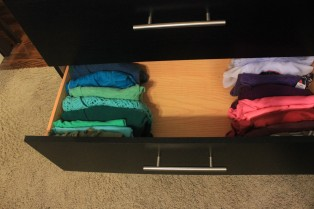 Organizing For Every Room!- organized drawer