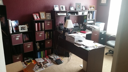 organizing paperwork in a home office home office filled with papers