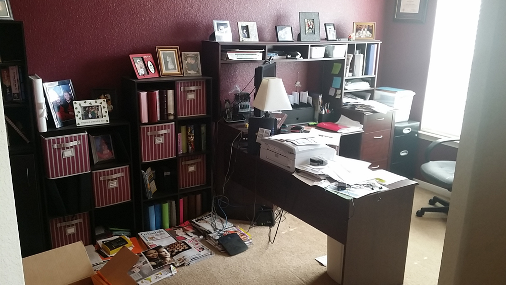 Incroyable Organizing Paperwork In A Home Office   Home Office Filled With Papers