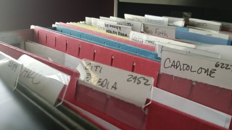 Organizing Paperwork in a Home Office - organizing file folders