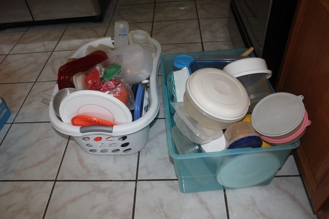 Tupperware and Troubled Corners - all that tupperware
