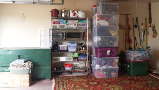 Organizing Garage Storage - garage after