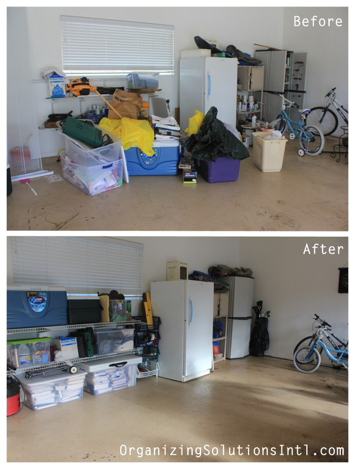 Tidy-up-that-garage-space- organized garage before and after