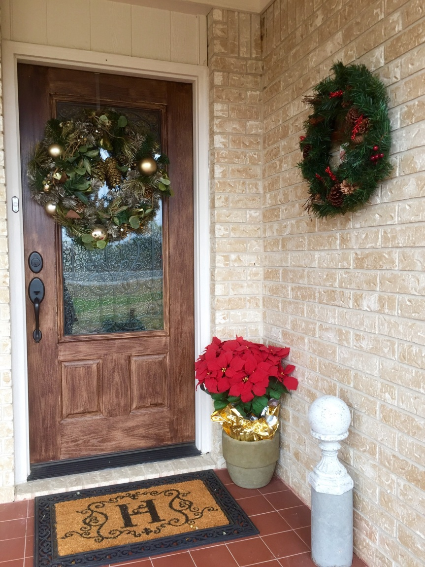 Glitzy Christmas Wonderland- Front Door