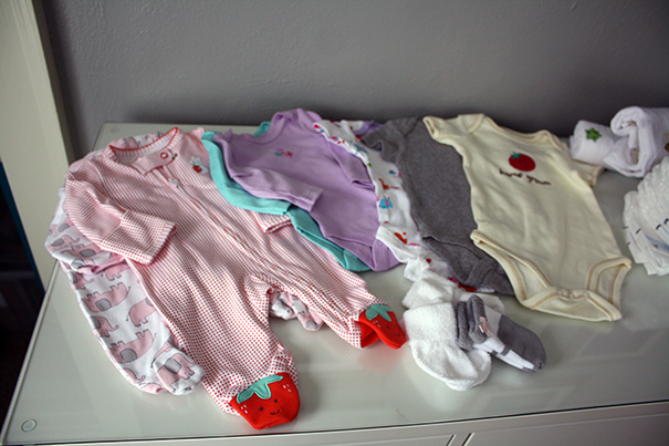Baby Clothes to Pack for Hospital Deliery