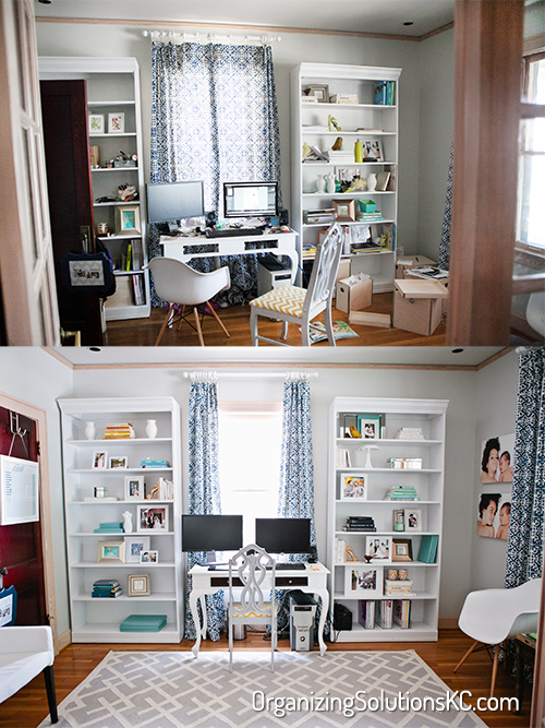 Photographers Home Office - Before and After 1