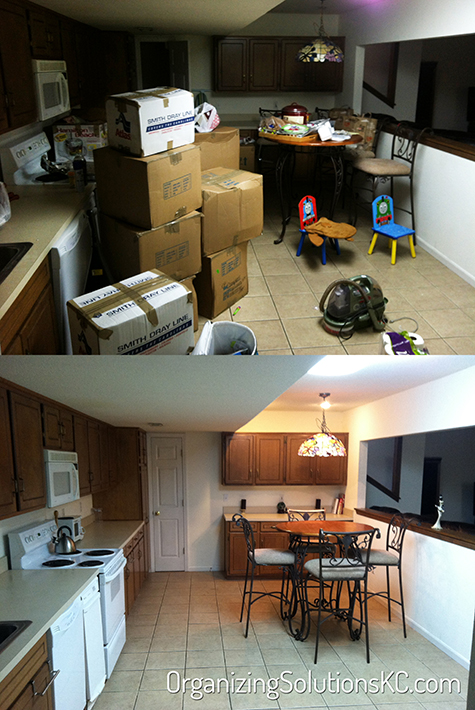 Unpacking a Kitchen 1