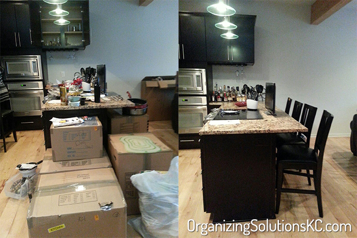 Unpacking a Kitchen