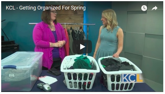 On KC Live: Getting Organized forSpring