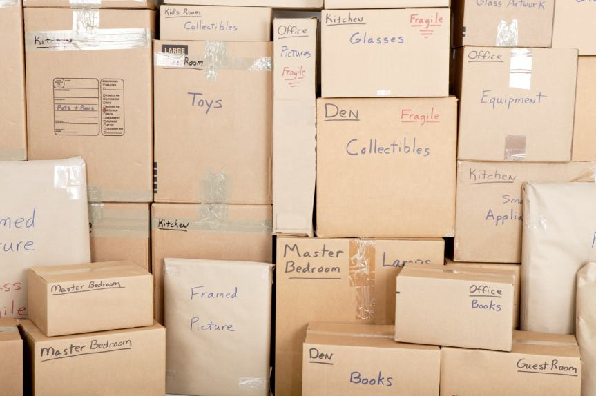 Organizing BEFORE You Move: Save Time and Your Sanity