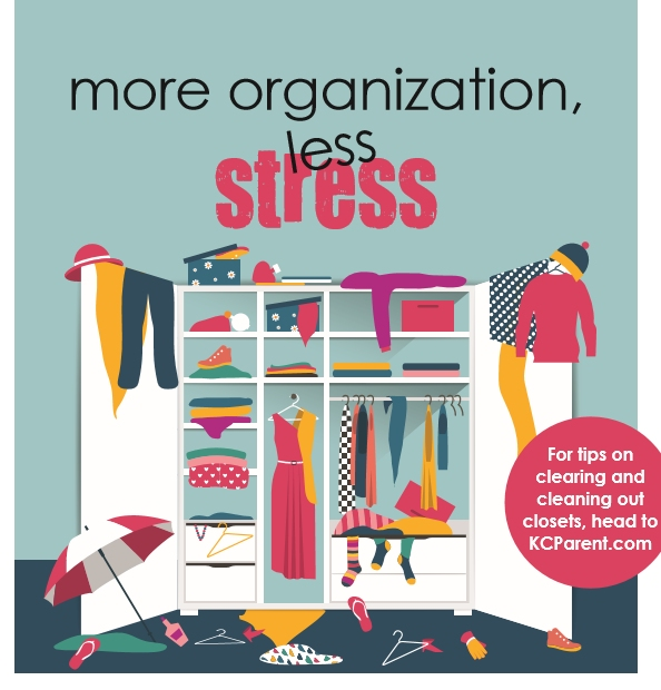 KC Parent Magazine Article: Spring Cleaning and Organizing Tips