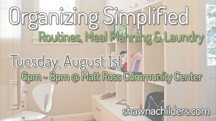 Organizing Simplified Workshop
