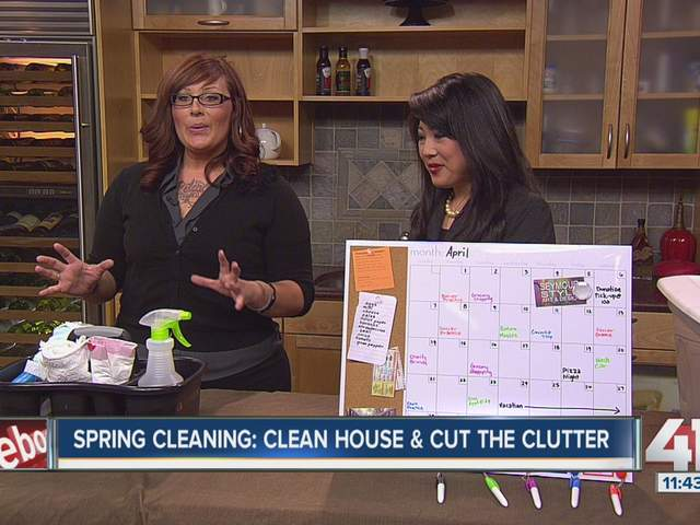 On FOX 4 KC: Spring Cleaning, Tips to De-clutter